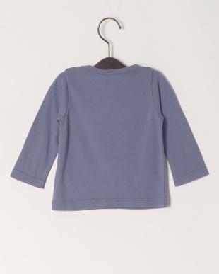 ブルー 16/-サークルエアーテンジクロゴPT ベビーL/S Tシャツを見る