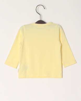 イエロー 20/-ソフトテンジク FITHベビーL/S Tシャツを見る