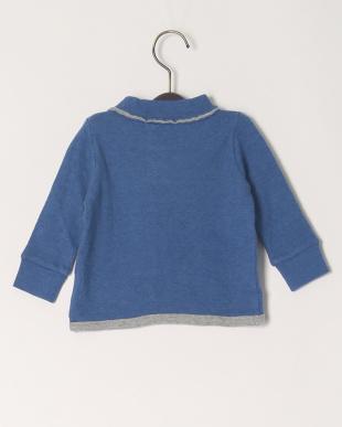 ブルー モクセッケツ ベビーハイネックL/S Tシャツを見る
