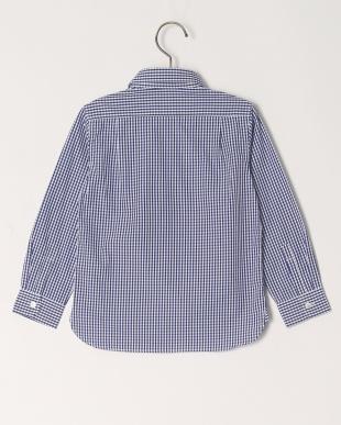 ブルー ギンガムCH L/Sシャツを見る