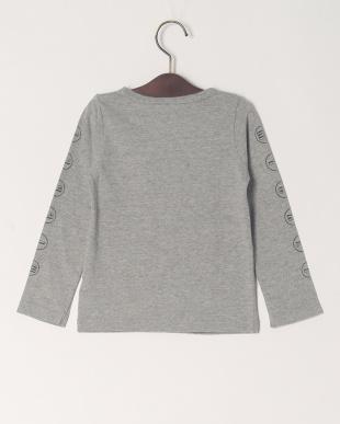 グレー 20/-ソフトテンジク MickeyソデロゴL/S Tシャツを見る