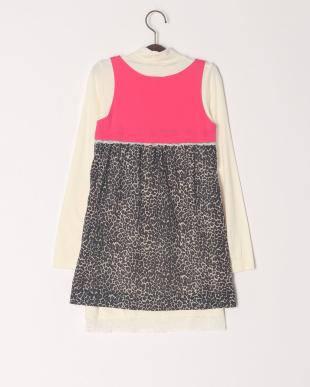 ピンク Tシャツ付ジャンバースカ-トを見る