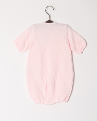 ピンク ジャガードコンビドレスを見る