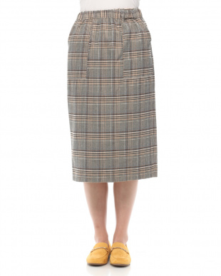 ベージュ リバーシブルスカートを見る