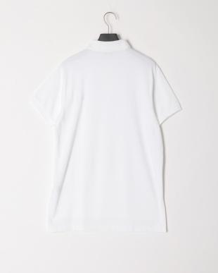 ホワイト  半袖ポロシャツを見る