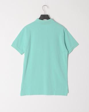 ライトブルー 半袖ポロシャツを見る