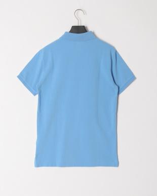 ペールブルー 半袖ポロシャツを見る
