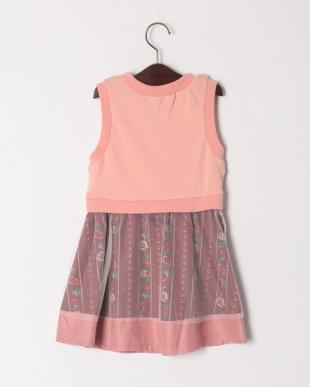 ピンク フォークロアジャンパースカートを見る