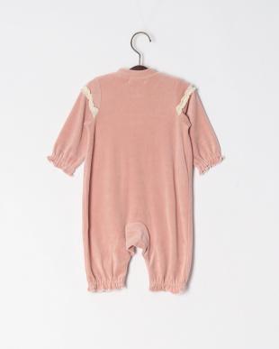 ピンク 綿ベロアカバーオールを見る