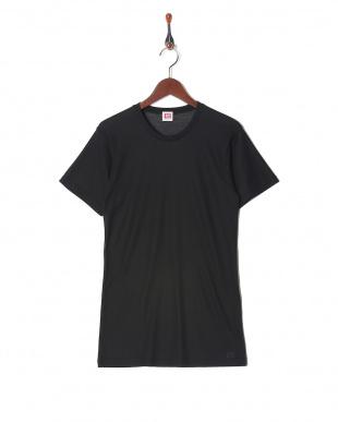 ブラック 吸水速乾 メッシュ ウルトラドライ クルーネックシャツ  3セットを見る