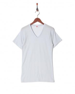 ライトグレー 吸水速乾 メッシュ ウルトラドライ Vネックシャツ  3セットを見る