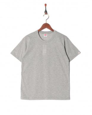 グレー カジュアルTシャツ クルーネック  3セットを見る