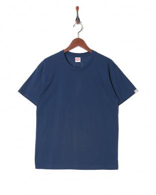 ネイビー カジュアルTシャツ クルーネック  3セットを見る