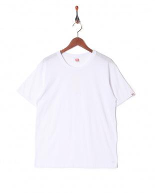 ホワイト カジュアルTシャツ クルーネック  3セットを見る