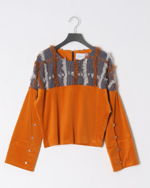 ORANGE  CUT HRT CHECK TOPを見る