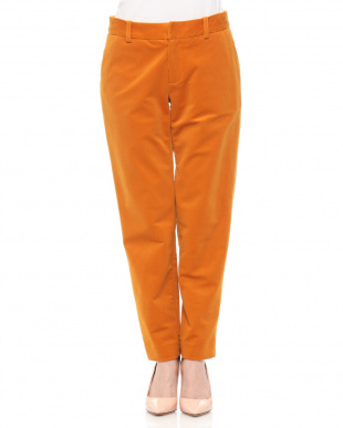 ORANGE  CORDUROY TAPERED PANTSを見る