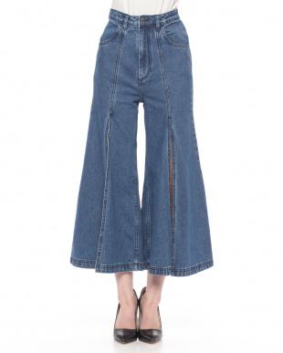 ブルー  婦人パンツ を見る