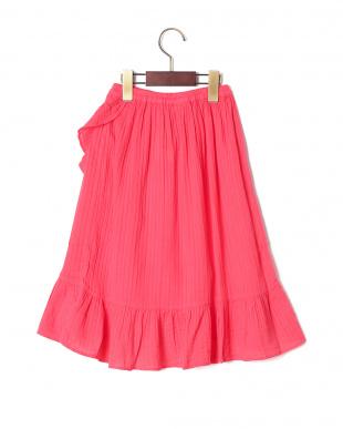 ローズ ラッフルデザイン スカートを見る