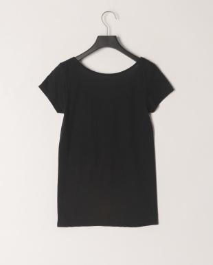 ブラック  さらっと快適綿混2分袖シャツを見る