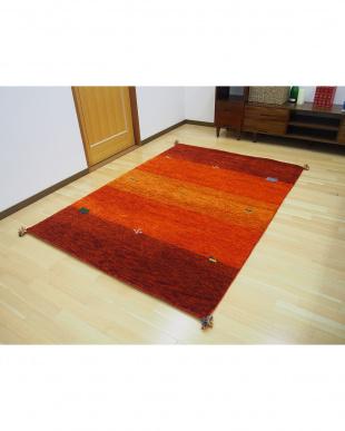 オレンジ GABBEH D16 OR  70×120cmを見る