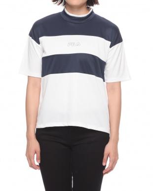Navy ・FILAレディースTシャツを見る