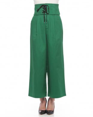 Green コルセット付パンツを見る
