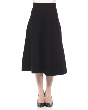 98/無彩色I(ブラック) ミモレ丈 ニットAラインスカートを見る