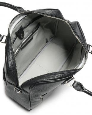 ブラック レザー 2WAY ビジネスバッグを見る