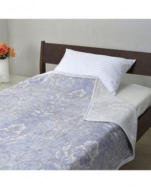 ブルー  綿毛布 140×200cmを見る