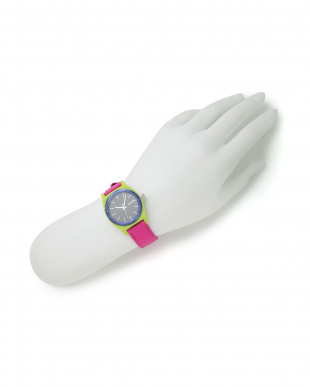 LIME / MAGENTA NX MEDIUM TIME TELLER LEATHER [保証書付]を見る