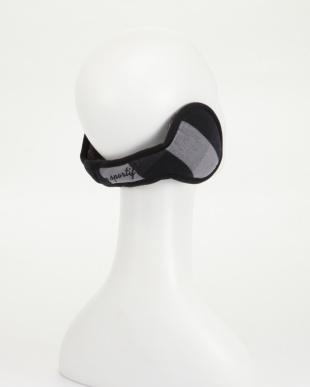 (BK00)ブラック チェック柄イヤーウォーマーを見る