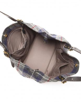 チャコールグレー ハリスツイード A4トートバッグ Harris Tweedを見る