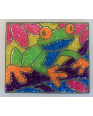 クリスタルキャッチャー カエルを見る