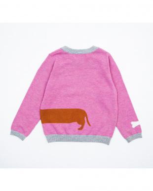 ピンク ダックスフンドセーターを見る