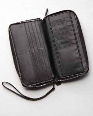 ブラック リザード長財布を見る