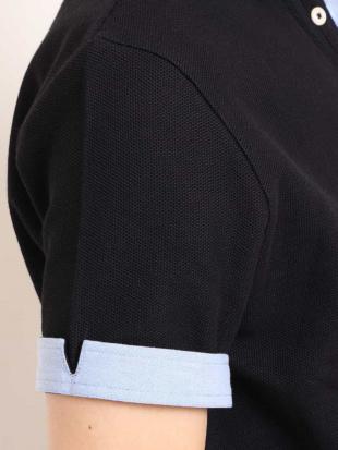 ネイビー ハニカムジャージーフェイクポロシャツ[WEB限定サイズ] a.v.v HOMMEを見る