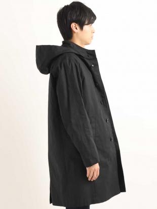 ブラック 3WAYスタンドカラーコート[WEB限定サイズ] a.v.v HOMMEを見る