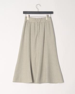 ベージュ 【STELLACIFFON】アイアスニューマットスカートを見る