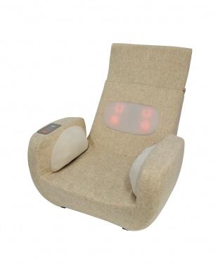 アイボリー 座椅子マッサージャーを見る
