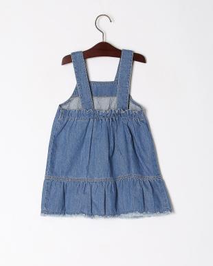 ブルー ジャンパースカートを見る