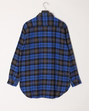 002 ビエラチェックビッグシャツを見る