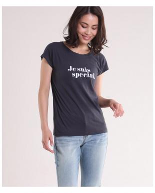 キャメル1 《Maison de Beige》プリントロゴTシャツ《マシュふわ(R)》 INEDを見る