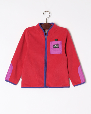ピンク  ジップアップジャケットを見る
