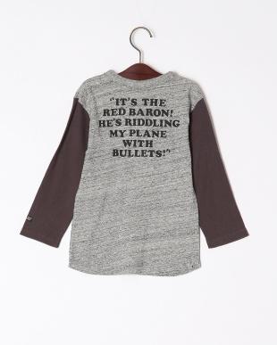 グレー PN 8分袖Tシャツを見る