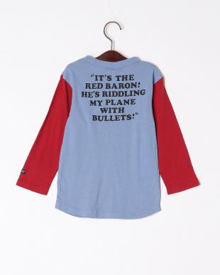 サックス PN 8分袖Tシャツを見る
