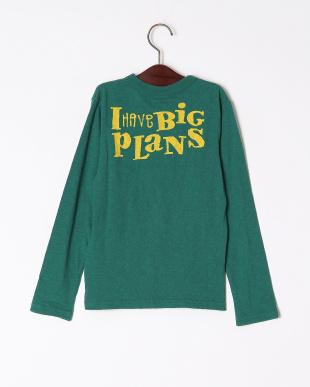 グリーン DY ミッキー長袖Tシャツを見る