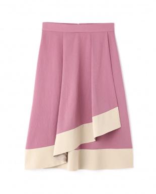 PINK ロージーラップ風スカート ジルスチュアートライセンスを見る