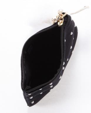 ブラック チャームポーチ swan pouchを見る