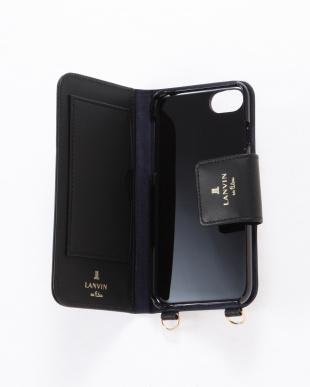 ブラック ポータブル 手帳型iPhone 6/6s/7/8対応ケースを見る