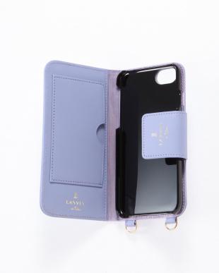 ラベンダー  ポータブル 手帳型iPhone 6/6s/7/8対応ケースを見る